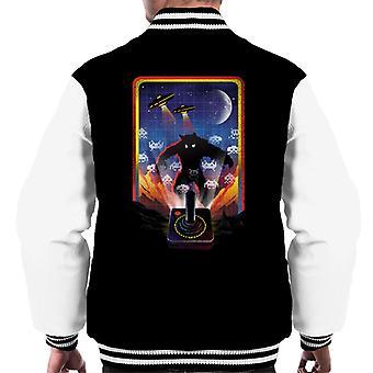 Space Invader Men's Varsity Jacket