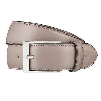 OTTO KERN belts men's belts leather belt Brown 3621