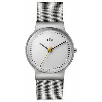 Braun Women ' s klasyczna linia Mesh bransoletka BN0211WHSLMHL zegarek