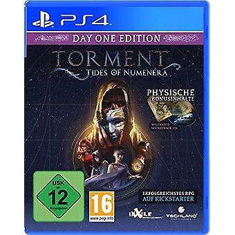 Pine tidevann av Numenera dag én utgave PS4 spill