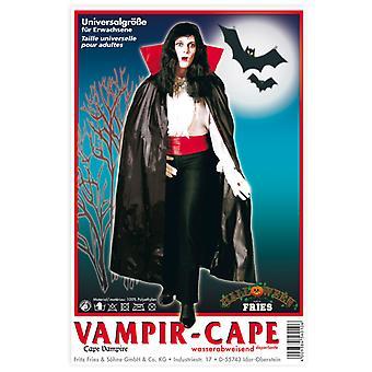 Vampire Cape apă repellent pelerină unisex Halloween Dracula