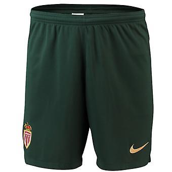 2018-2019 Monaco Away Nike Football Shorts (Kids)