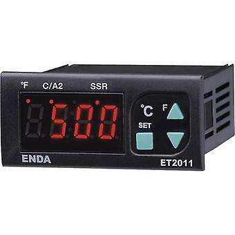 Enda ET2011-RT-230 PID temperatury kontrolera Pt100-100 aż do + 600 ° C 8 A przekaźnik SSR (L x b x H) 71 x 77 x 35 mm