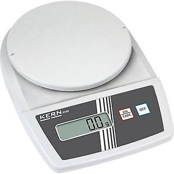 Kern Letter scales Weight range 2.2 kg Readability 1 g battery-powered, mains-powered (optional) White