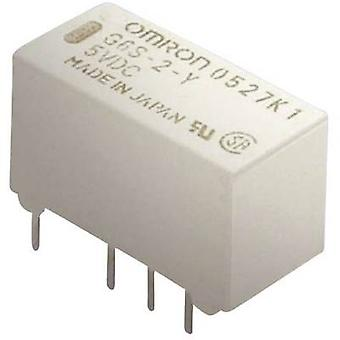 Omron G6S-2 5 VDC PCB relay 5 VDC 2 A 2 Change-overs 1 PC (s)