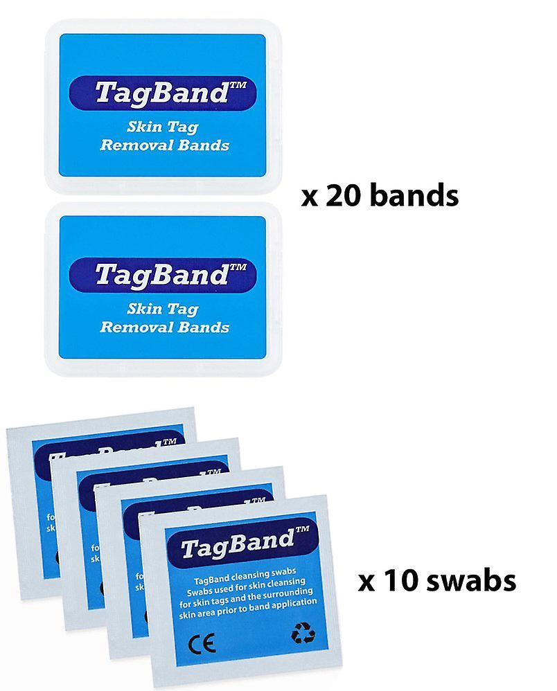 Micro TagBand Refill Band Pack for huden Tag fjernelse enhed