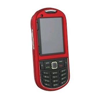 Restaurar o WirelessXGroup emborrachado escudo protetor para Samsung SPH-M570 - vermelho