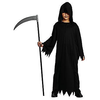 Schwarzes Gewand Mantel Kostüm für Kinder