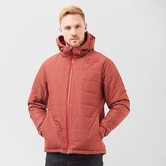 New Fox Bishop Jacket Long Sleeve Full Zip Jacket Red