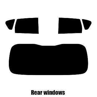 Pre cut window tint - Nissan Note - 2008 to 2012 - Rear windows