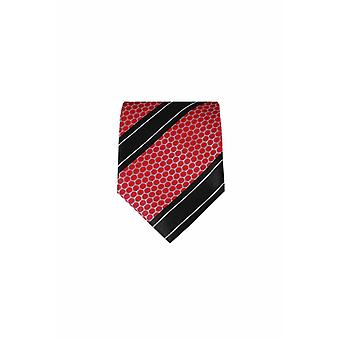 Red silk tie M22
