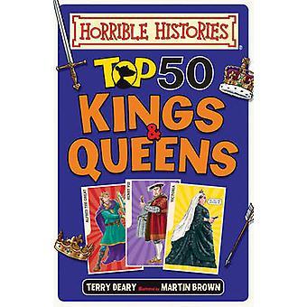 トップ 50 の王と女王はテリー貧弱 - マーティン ・ ブラウン - 9781407179421 で