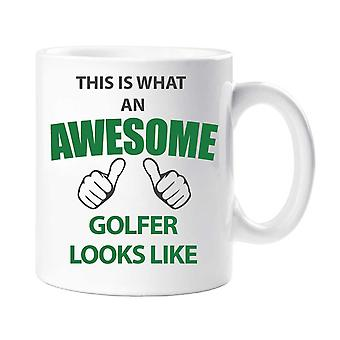 This Is What An Awesome Golfer Looks Like Mug