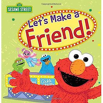 Let's Make a Friend! (Sesame Street Scribbles)