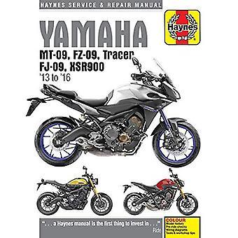 Manuel de réparation et de la Yamaha MT-09 Service: 2013-2016 (Haynes moto)