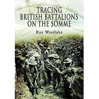 Spåra brittiska bataljoner på Somme