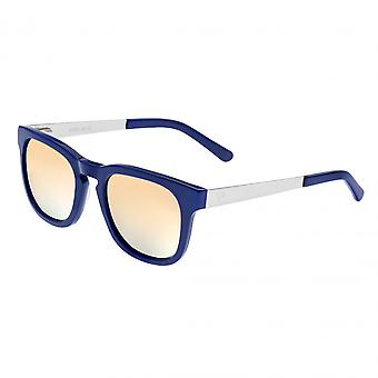 Sixty One Twinbow Polarized Sunglasses - Periwinkle/Green
