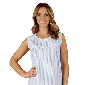 Slenderella ND3220 Frauen gewebte Nacht Kleid Loungewear Nachthemd