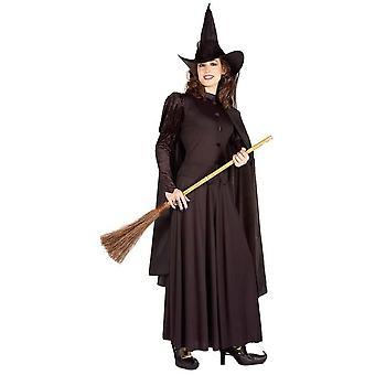 Klassieke heks vrouw kostuum