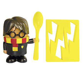 V prohlížecí krabici Harry Potter a černý ořezávač, žlutý, vyrobený z plastu.