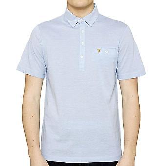 Farah Tennyson Short Sleeve Polo Shirt  Polar