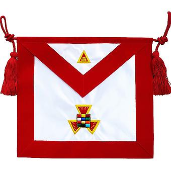 Masonic Royal Arch RAM Past High Priest PHP Apron Hand Embroidered