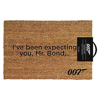 James Bond ik heb verwacht je deurmat