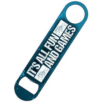 Grindstore It`s All Fun And Games Bar Blade Bottle Opener
