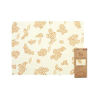 Beeswax Wraps Individuel Pain Wrap Honeycomb