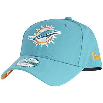 New Era 9Forty Cap - NFL LEAGUE Miami Dolphins aqua