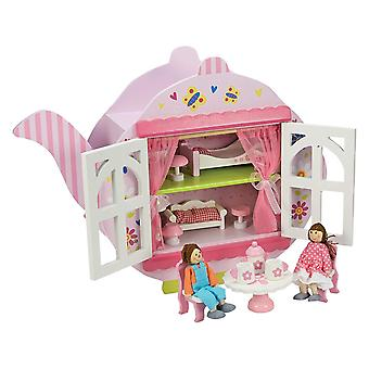Puinen tee Dolls House
