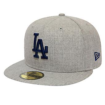 New Era 59Fifty Fitted Cap - HEATHER Los Angeles Dodgers