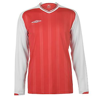 Umbro Mens Long Sleeve Top Round Neck T-Shirt Tee