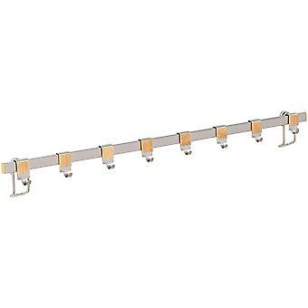 Wenko Colgador 60cm con 8 ganchos Premium (Mesa y Cocina , Orden en la Cocina , Otros)