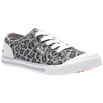 Rocket Dog Womens Jazzin Bounce Cotton Lace Up Trainer