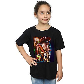 Disney tyttöjen lelu tarina 4 Woody juliste T-paita