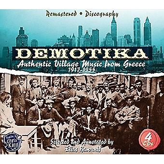 Demotika-Authentic Village Music From Gr - Demotika-Authentic Village Music From Gr [CD] USA import