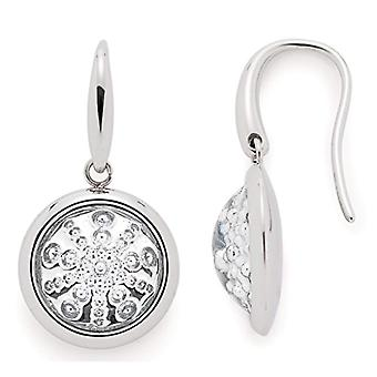 LEONARDO JEWELS Pendulum earrings and drop Woman steel_stainless glass