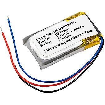 Wireless Headset Battery for Beats CPP-566 Powerbeats 2, Li-Polymer 90mAh NEW