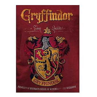 Harry Potter Adults Unisex Gryffindor Crest T-Shirt