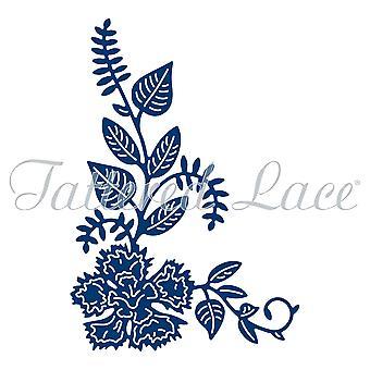 Tattered Lace Carnation Corner, Silver