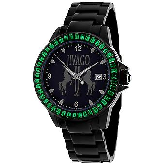 Jivago Women's Folie Black Dial Watch - JV4217
