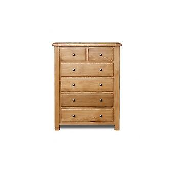 Woodstock 4+2 Chest - Oak