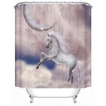 Magical Unicorn Shower Curtain