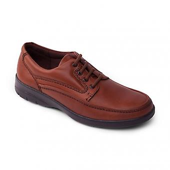 Padders Fire Mens Leder (f Fit) Komfort Schuhe Tan