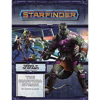 Starfinder Adventure Path The Diaspora Strain (Signal of Screams 1 of 3) Book