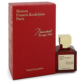 Baccarat rouge 540 extrait de parfum spray (unisex) by maison francis kurkdjian 547890 71 ml