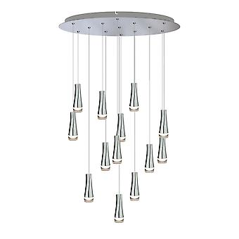 Firebolt 13 Mini Pendant Lighting Chrome