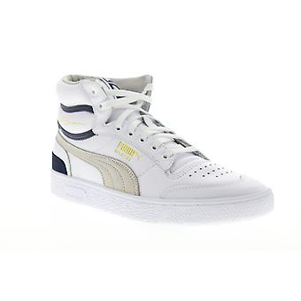 Puma Ralph Sampson Mid OG  Mens White The Archive Sneakers Shoes