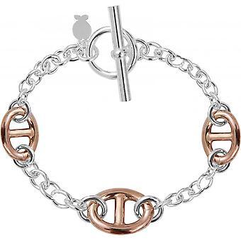 Clio BR2327 - Bracelet mesh silver woman Navy Blue bracelet